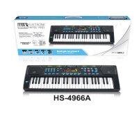 Детский синтезатор 49 клавиш HS-4966A