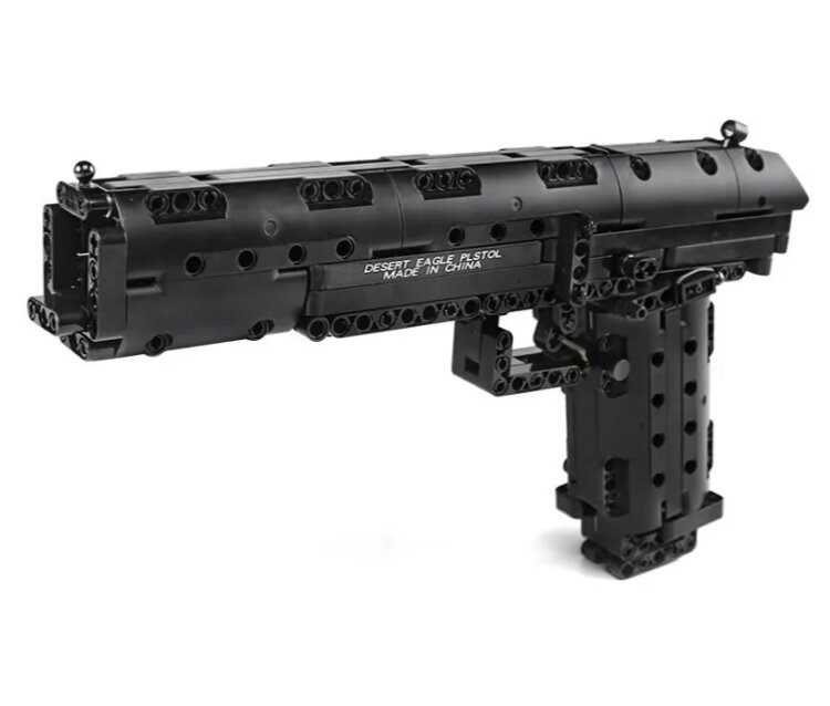 Конструктор Техник  MOULD KING Пистолет Desert Eagle 563 деталей 14004