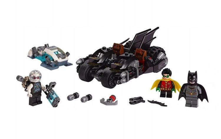 """Конструктор  """"Бэтмен Гонка на мотоциклах с Мистером Фризом"""" 216 дет. Lari 11350"""