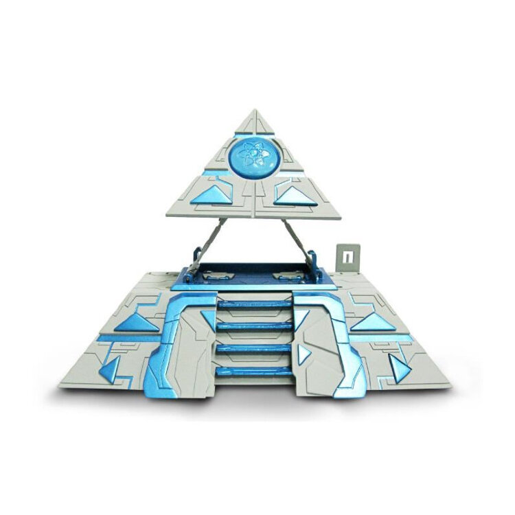 Атомикрон Штаб-Пирамида с двумя катапультами