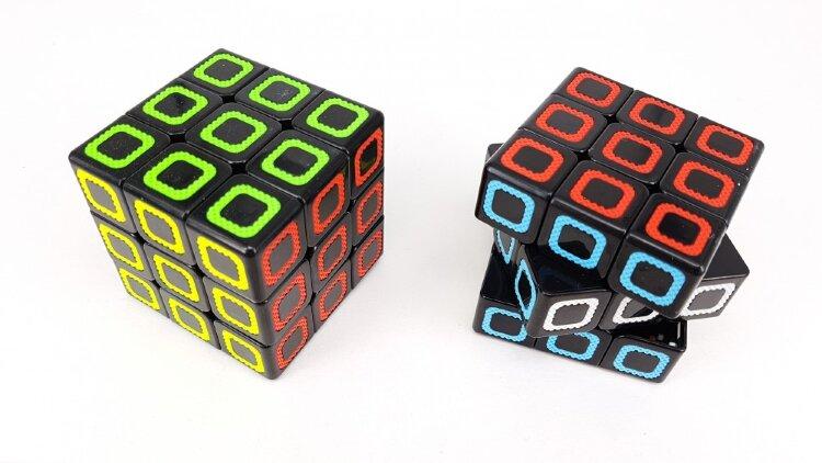 Скоростной кубик 3х3 светящийся в темноте