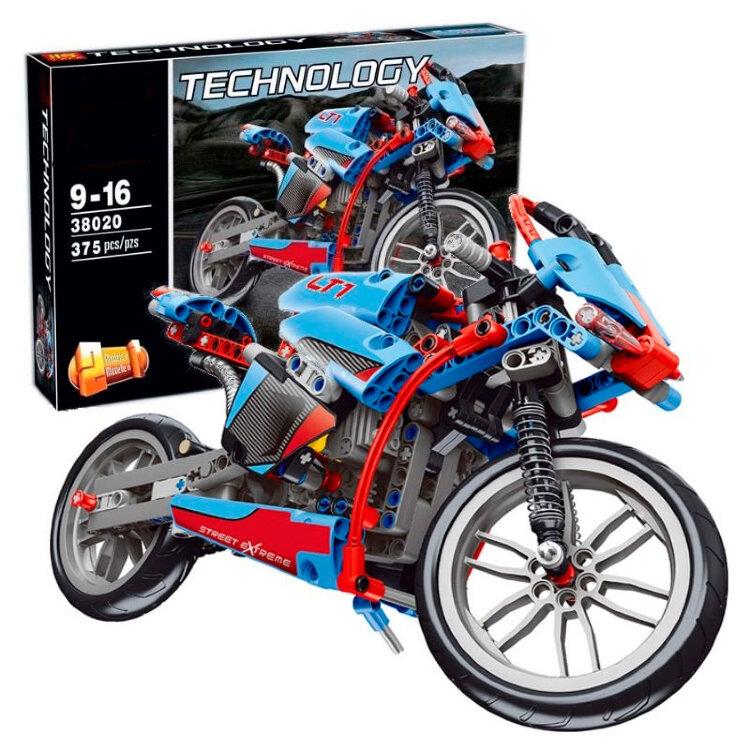Конструктор  Technology PRCK 38020 Мотоцикл