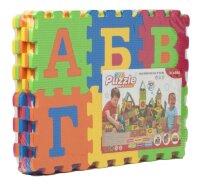 Детский коврик-пазл Алфавит EVA Puzzle