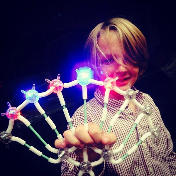 Светящийся конструктор Light up links 158