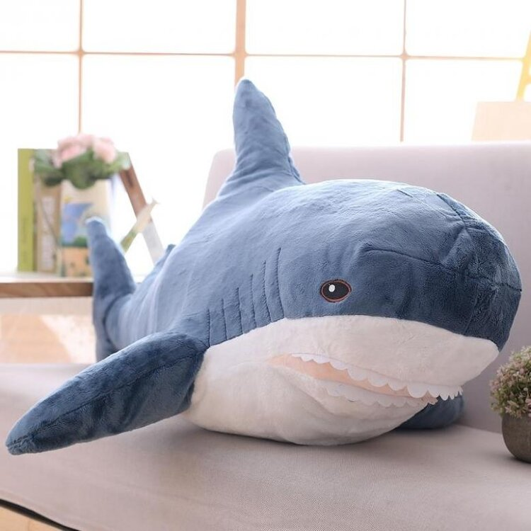 Мягкая игрушка Акула 55 см.