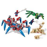 """Конструктор """"Паучий вездеход"""" Человек паук  440  дет. Spider Hero 11187"""