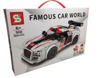 """Конструктор  гоночный автомобиль """"Audi Sport"""" 324 дет 5112"""
