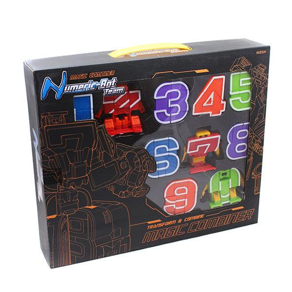 Цифровые трансформеры цифроботы Numeric-Bot