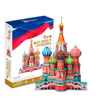 """Объемный 3D-пазл """"Собор Василия Блаженного"""""""