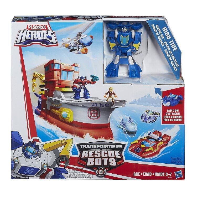 Игровой набор Playskool Трансформеры Боты-спасатели Хай Тайд Hasbro