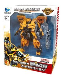 Робот-трансформер Бамблби Transmutatuon Bumblebee 17 см