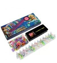 Набор для плетения браслетов 600 резинок  Loom Bands