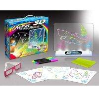 Доска для рисования с подсветкой и 3D эффектом (Подводный мир)