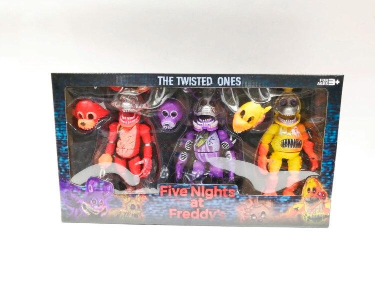 Игровой набор Аниматроники 5 ночей с Фредди 3 шт.