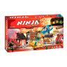 """Конструктор Ниндзя """"АЭРОДЖИТЦУ ПОЛЕ БИТВЫ"""" 695 дет.  Ninja 10527"""
