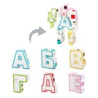Буквы трансформеры Роботы для дома  (в отдельных коробочках)