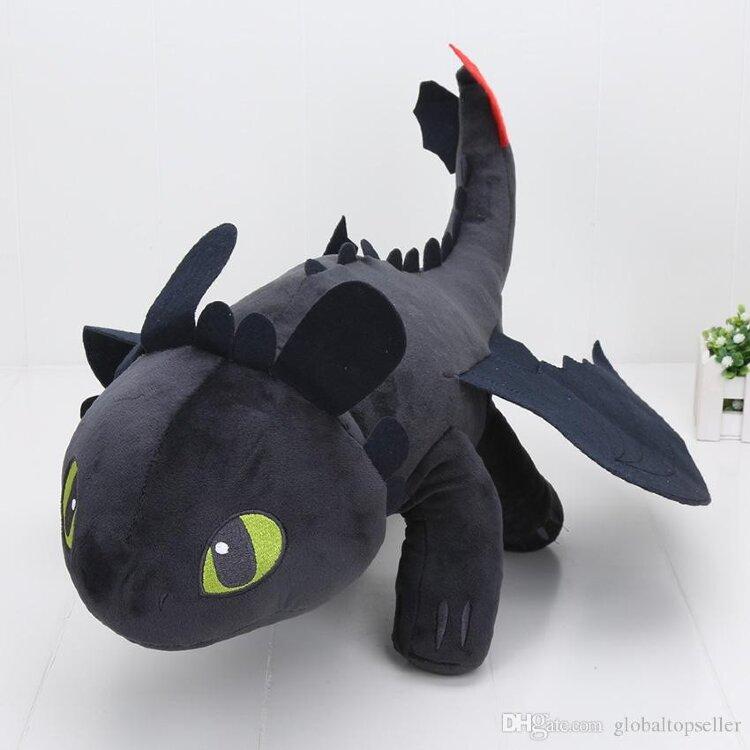 Плюшевый Дракон Беззубик 33 см.