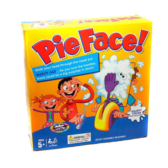 Настольная игра Pie Face ( Пирог в лицо)