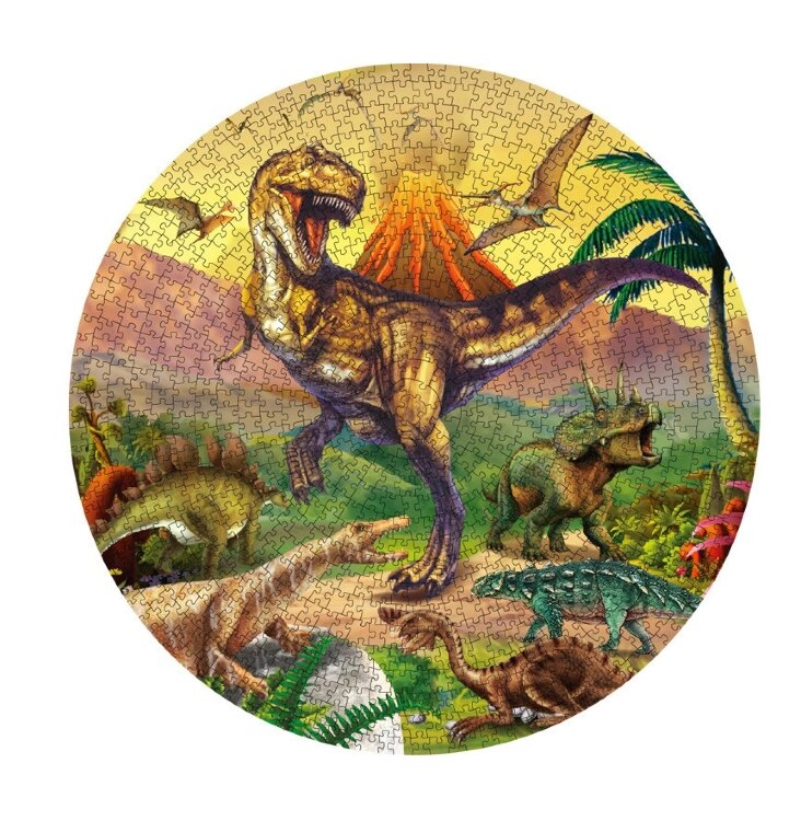 "LERO KIDS развивающий пазл  ""PINSHIDAI"" 1000 элементов.   динозавр 0609-G"