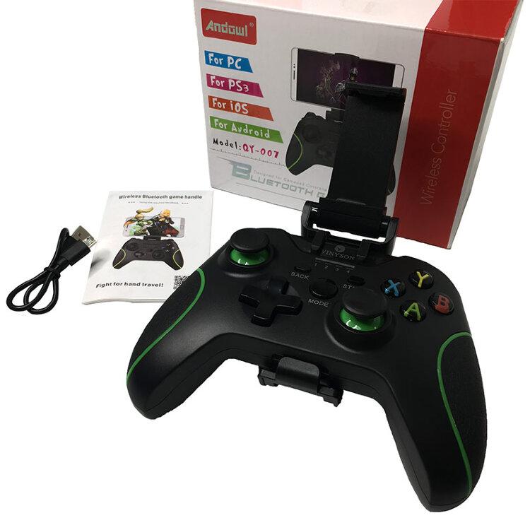 Игровой джойстик для телефона Геймпад QY-007 с Bluetooth