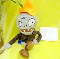 Мягкая игрушка Зомби в пиджаке 30 см. Растения против зомби
