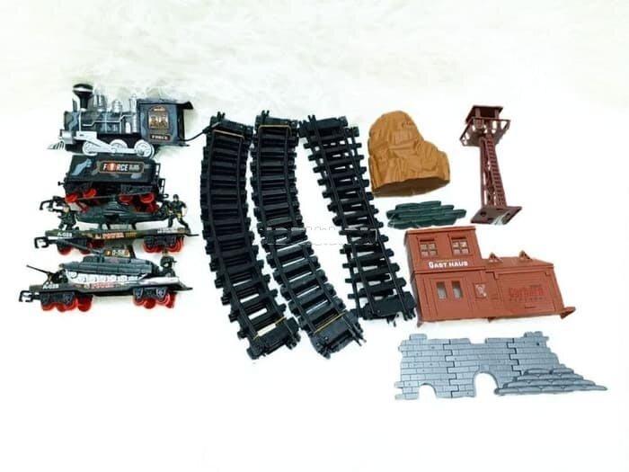 Военная железная дорога MA-Train (свет, звук, дым)