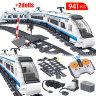 Электромеханический конструктор  Скоростной пассажирский поезд Zhe gao Rail Transit  941 дет.