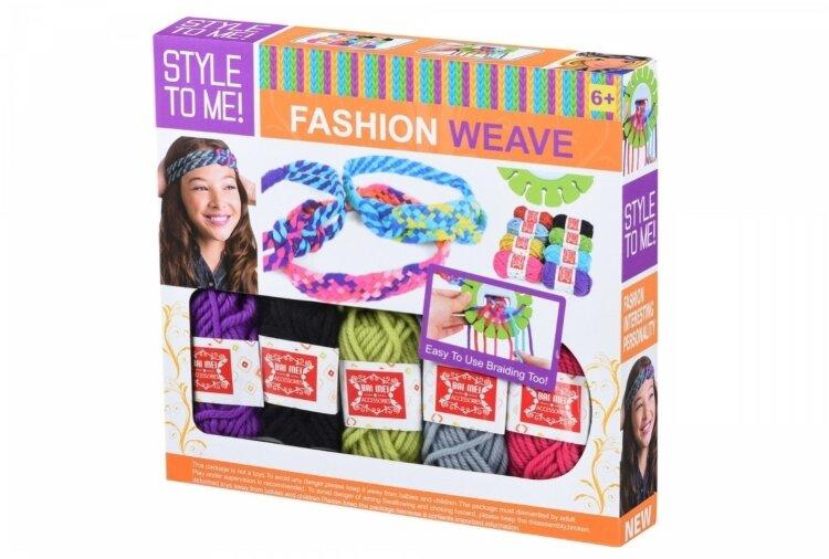 Набор для рукоделия STYLE TO ME круговая машина для плетения