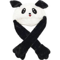 Шапка Панда с двигающимися ушами и подсветкой
