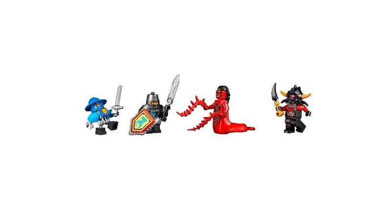 Конструктор Черный рыцарь Jisi bricks (Decool) Future Knights 8018
