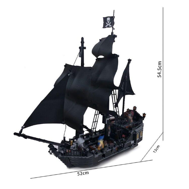 """Конструктор """"Пираты карибского моря  Черная жемчужина"""" 875 дет. 6002"""
