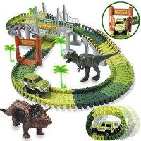Чудо трасса Dinosaur Tracks 228 дет.
