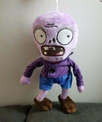 Мягкая игрушка Зомби фиолетовый  30 см. Растения против зомби 1