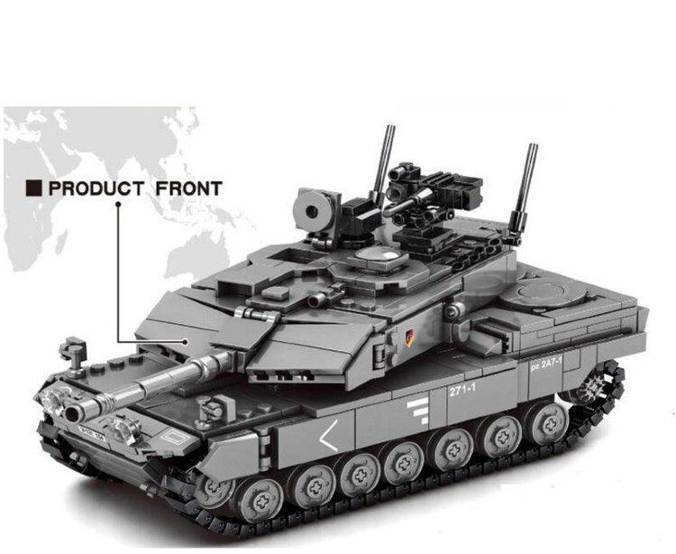 "Конструктор Танк Леопард  ""LEOPARD 2A7"" 898 дет.  SY 0104"