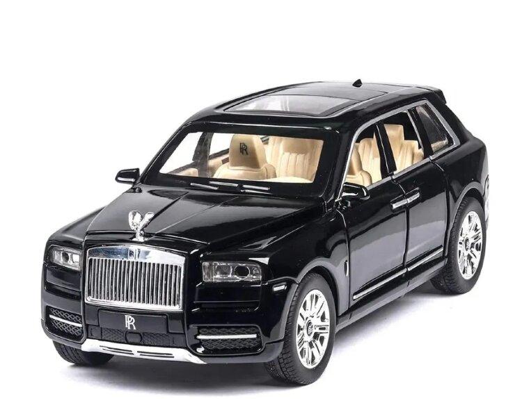 """Металлическая инерционная машинка  """"Rolls-Royce Cullinan"""" 1:24 20 см"""