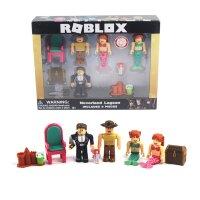 Набор фигурок Роблокс - Roblox Neverland Lagoon 2 - 4 фигурки с аксессуарами