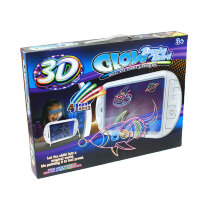 Планшет для рисования с подсветкой и 3D эффектом (Космос)
