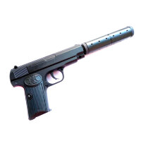 Страйкбольный пистолет с глушителем Браунинг   К112S AIR SPORT GUN