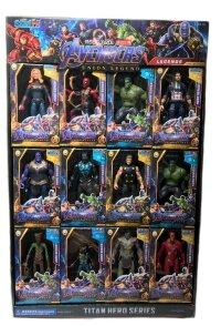 """Супер Герои """"Мстители"""" Марвел, набор коллекционных фигурок 12 шт"""