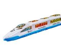Поезд сапсан игрушка на батарейках Train 3D/3д звук