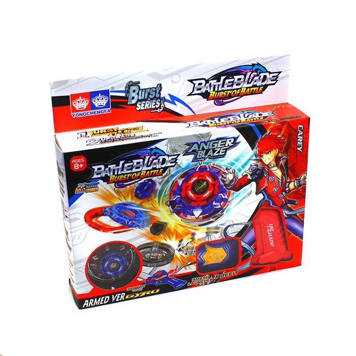 Волчок с рукояткой Battle Blade  Anger Blaze