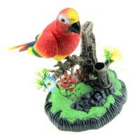 Подставка для карандашей Поющий попугай