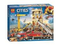 """Конструктор Cities """"Сити Центральная пожарная станция"""" 985 дет 11216"""