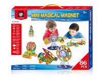 Магнитный конструктор Mini Magical Magnet 86 деталей XINBIDA MO86