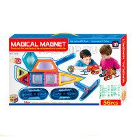 Магнитный конструктор 56 деталей  Magical Magnet