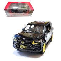 """Машинка металлическая инерционная """"Lexus LX"""" 1:24"""