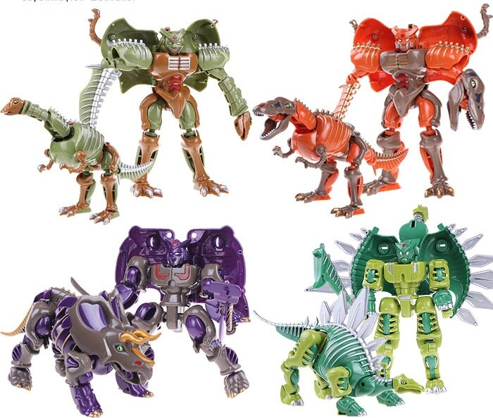 """Динозавр трансформер """"Тираннозавр Рекс"""" Crazy Dragon Warrior 20 см"""