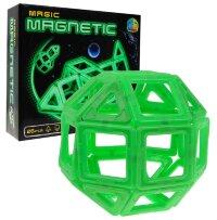 Магнитный конструктор Magic Magnetic 26 деталей (светящийся в темноте)