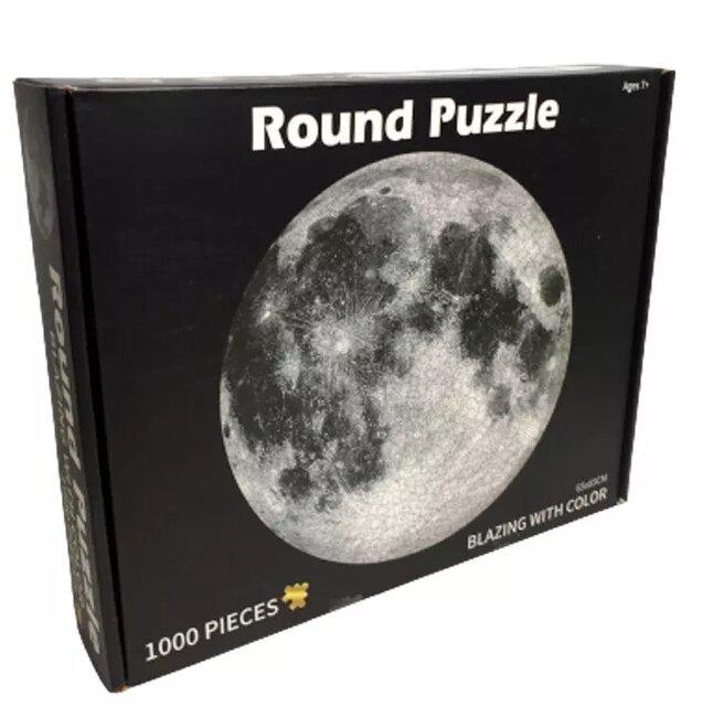 LERO KIDS развивающий Round Пазл из 1000 элементов - луна