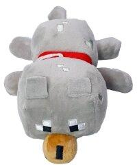 Игрушка мягкая Майнкрафт  Волк 26 см с присоской
